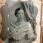 Tin type in antique frame