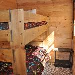 bunk beds in room