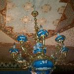 Ceiling detail at Parador Inn