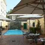 Pool & outdoor patio area
