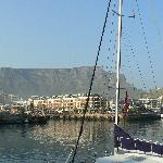 The V&A Waterfront area
