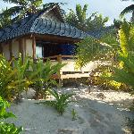 the beachfront bungalow