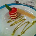 caprese salad at Italian-yummy