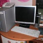 PC in the guest room