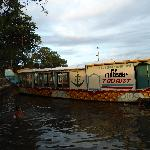 One of the houseboats