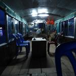 On the houseboat
