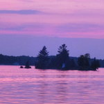 Muskoka Wharf Sunset August 2011