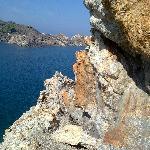 La roca y el agua