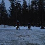 Snow gliding