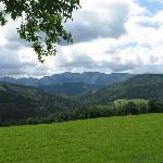 Blick ins Hoellengebirge