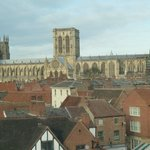 Best view of York Minster from the Cafe in M&S