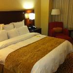 king bed when I arrived