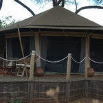 our tent at Swala
