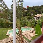 Vista del balcon a la pileta