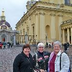 With Diana our guide (Center) - Sts Peter & Paul Fortress