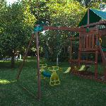 Garden & children playground