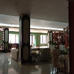 vestíbulo y cafetería