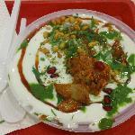 Dahi Papdi Chaat at Haldiram's