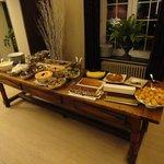 The famous dessert buffet