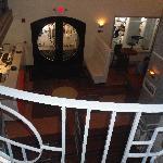 lobby/balcony