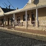 The Country Inn is in the Wakkerstroom village center