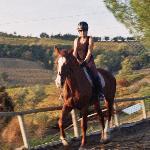 Riding Zara