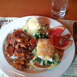 Florentine Benedict with Base-Camp Potatoes