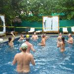 Clothing optional volleyball