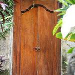 front door opens to your private villa