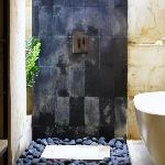 Bathroom configuration - newly renovated villa #1