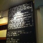 The menu on 11 Dec 2011