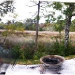 beautiful spot overlooking the marsh just outside their back door!!!