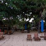 View towards Besakih from beach
