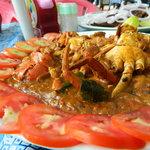 Crab masala at Del Mar