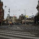 Leidsplein square near the hotel