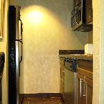 Jacuzzi Suite kitchenette