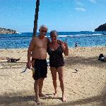 Snorkeling at Hanauma Bay!