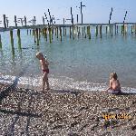 The pier in april