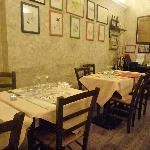 Osteria Barberini - interior