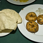 Starters fried lentil dumpling