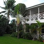 waterfront lodge - the garden -
