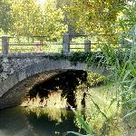 Old bridge to reach the estate