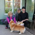 Ian, jenny and myself with Raki and Pippa