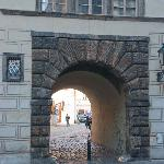 Another small archway