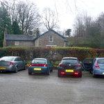Car Park and house of Smithy Fold