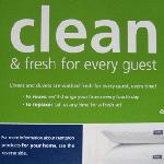 Very nice touch -- a clean duvet!