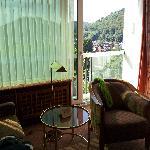 Zimmer 8.Etage in Rtg. Kurpark