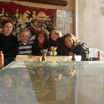 Foto con la familia