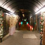 La entrada, dias antes de Navidad