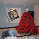Un detalle de la decoracion navideña
